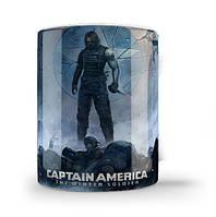 Кружка чашка  Зимний солдат (Капитан Америка)