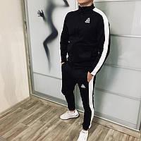 Спортивный костюм мужской Reebok CL X black ЛЮКС качества / осенний весенний