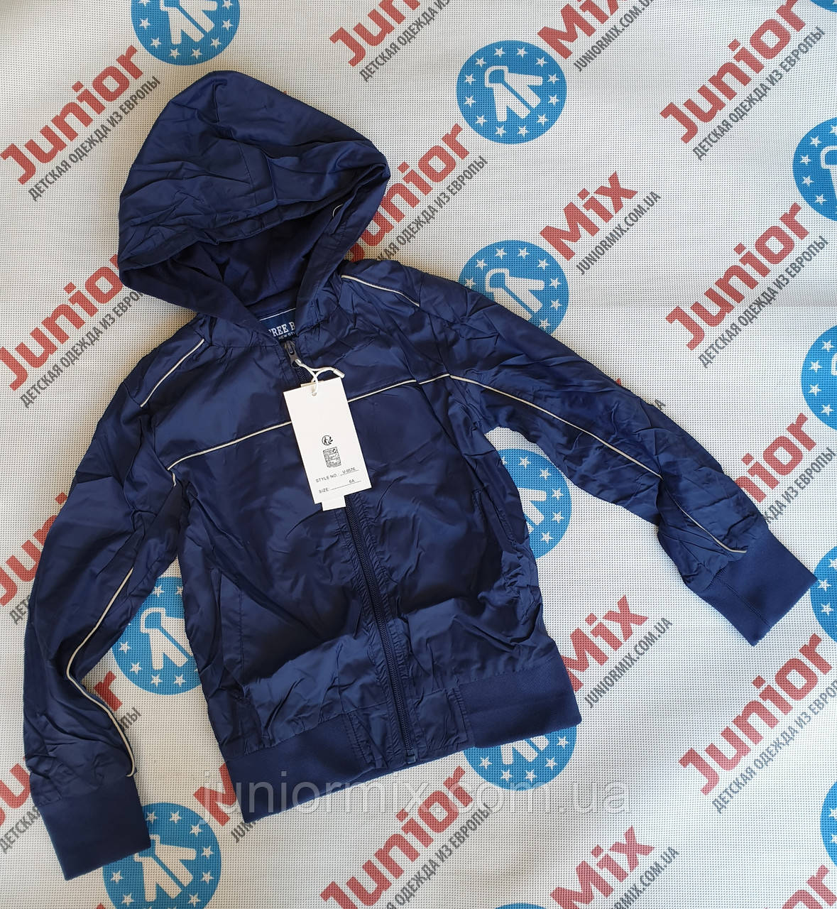 Подростковые весенние  куртки для мальчиков оптом