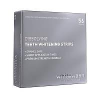 Teeth whitening strips, 56 шт, отбеливающие полоски растворимые, WhiteWash Laboratories