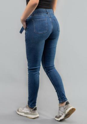 """Женские джинсы синие Battal """"Lady Forgina""""джинсы"""