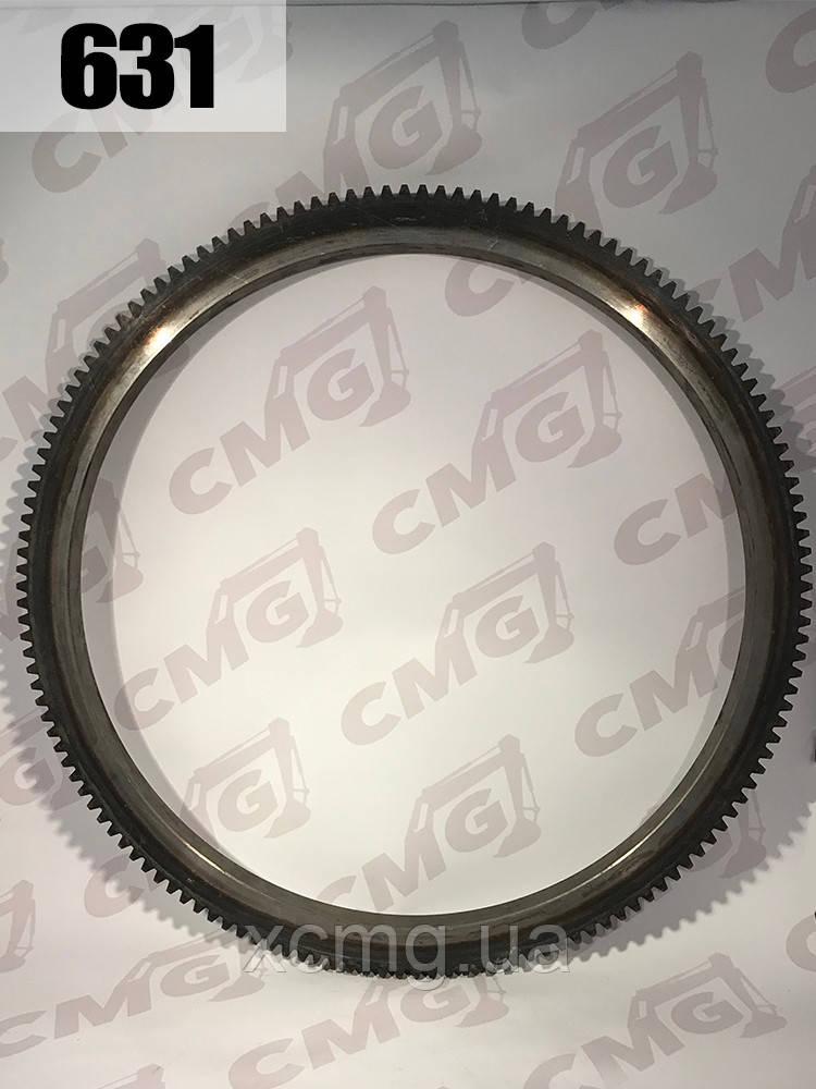 Вінець маховика D06B-103-03 двигуна Shanghai D6114, SC9D220.2G2B1, 143 зуба для QY25K5