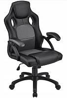 Кресло компьютерное игровое или для офиса Home Fest OSKAR Серое