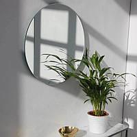 Зеркало круглое серебряное