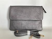 Женская сумка клатч Pretty Woman серебристого цвета на каждый день через плечо Одесса 7 км, фото 1