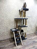 Домики когтеточки игровые домики для кошек, кошка домик дряпка высокий 1640 мм.
