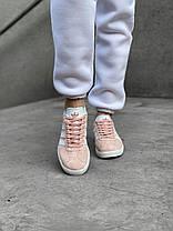 Женские кроссовки в стиле Adidas Gazelle Pink, фото 3