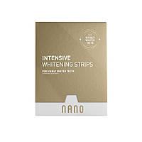 Intensive Whitening strips, 28 шт, отбеливающие полоски интенсивные, WhiteWash Laboratories Nano