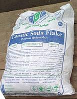 Сода каустическая чешуя Иран в мешках по 25 кг.