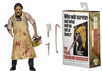 Коллекционная фигурка Neca Кожаное лицо Техасская резня бензопилой  Leatherface: Texas Chainsaw Massacre 18 см