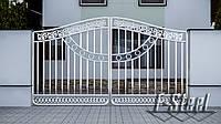 Декоративные комплектующие для ворот из нержавейки