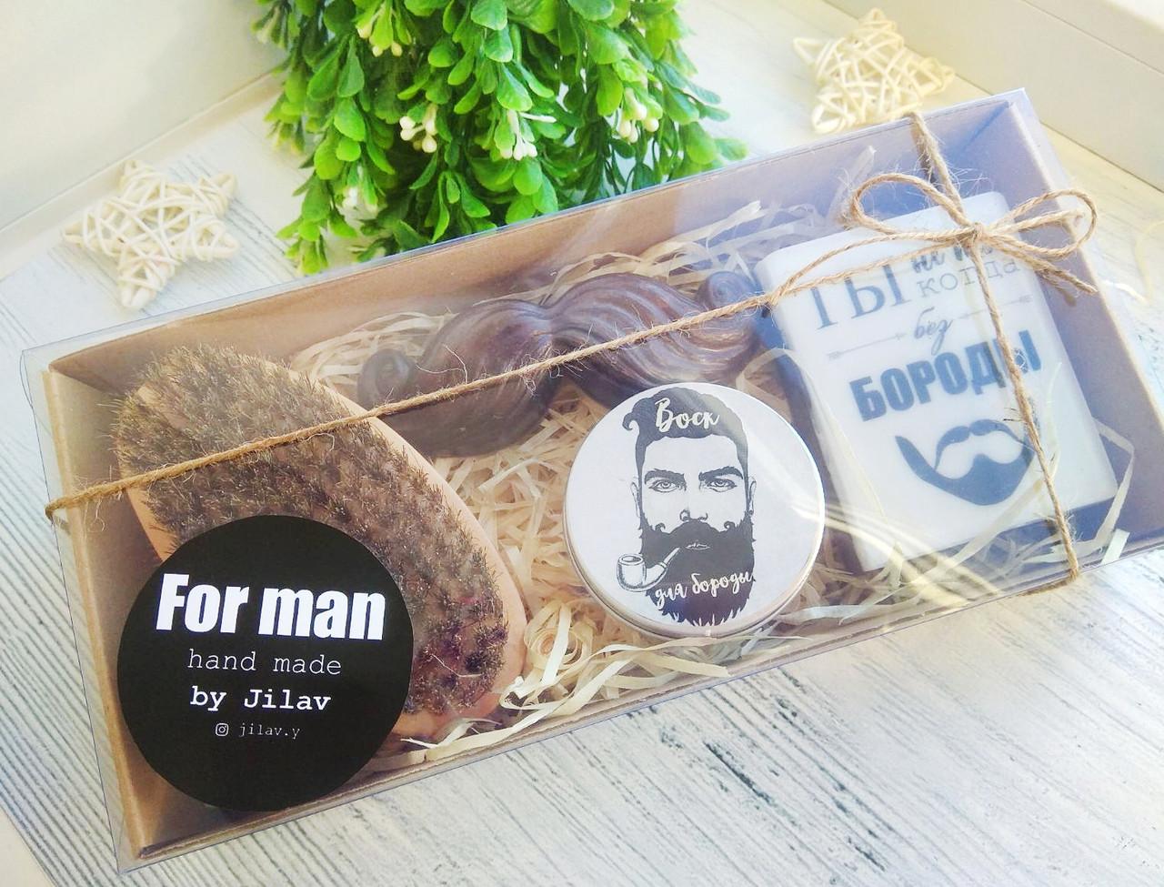 """Набор подарочный """"Для бородача"""" в коробке"""