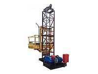 Подъемник мачтовый грузовой строительный 2000кг