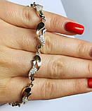 Браслет в серебре с золотом Эстер, фото 4