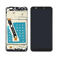 Дисплей для HUAWEI P Smart (2017) с чёрным тачскрином и корпусной рамкой