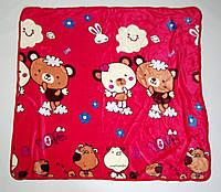 Плед детский теплый 140*100см королевский флис, микрофибра софт, одеяло мягкое, одеяло теплое, плед