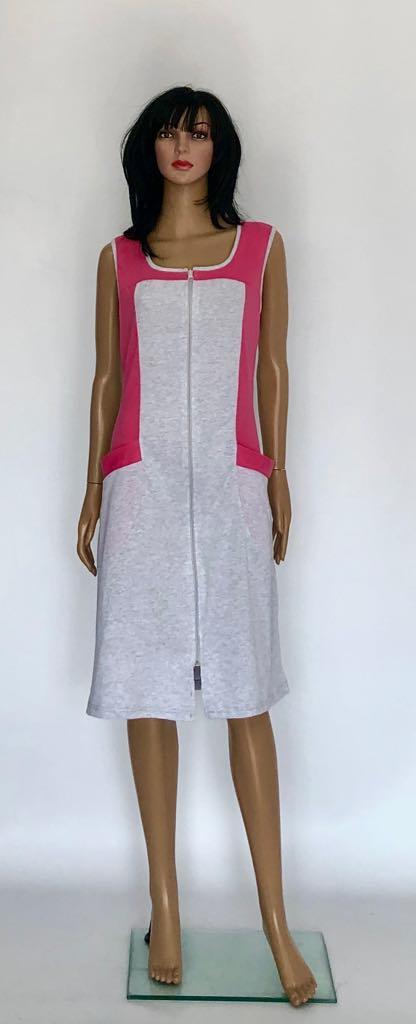 Трикотажный халат без рукава от производителя Triko большие размеры