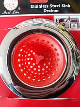 Сеточка для сбора мусора в раковину ( Ситечко для раковины ) 11*75 мм, нержавейка хромированная (BKL 1161 - 41
