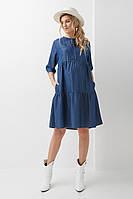 Джинсовое платье для беременных и кормящих 2008 1304, фото 1