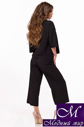 Женский черный костюм (р. 42-44, 44-46) арт. 28-980, фото 2