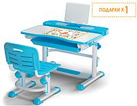 Комплект Evo-kids (стул+стол+полка) BD-04 B New (XL) Blue