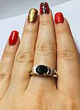 Колечко с золотом в серебре Мелани, фото 5