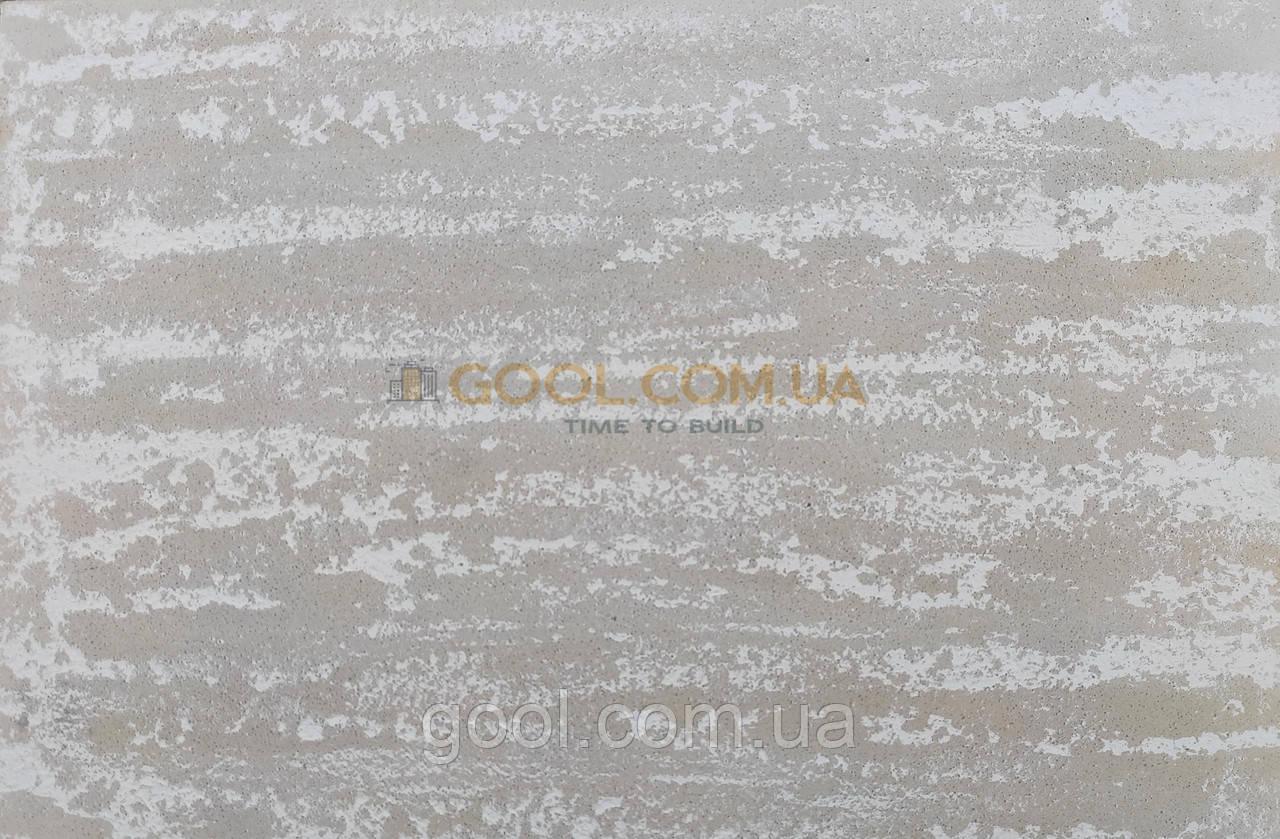 Декоративна штукатурка під камінь травертин на фасад і інтер'єр. Робота та матеріали.