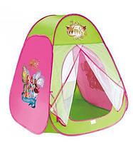 """Детская палатка-домик для девочки 815S """"Winx"""", размер 90*80*80 см"""