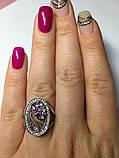Круглое кольцо с цветочным узором Флоренция, фото 4