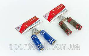 Эспандер кистевой пружинный ножницы  Zelart (металл, ручка неопрен, нагрузка 30кг)  FI-3246