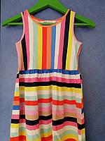Красивое яркое платье , производитель h&m, 4-6 лет