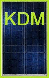 Солнечная панель KDM 290 Вт 24В поликристаллическая KD-P290