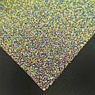 Фотозона, коврик силиконовый инкрустированный, хамелеон, фото 3