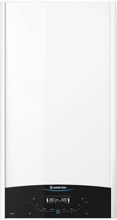 Котел газовый двухконтурный турбированый 28кВт Ariston GENUS X 30 FF NG   3300853, фото 2