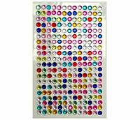 Стразы самоклеющиеся разноцветные DIY