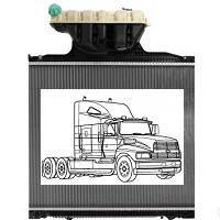 Радиаторы на грузовики