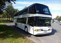 Лобове скло автобусу Neoplan 122 верхнє