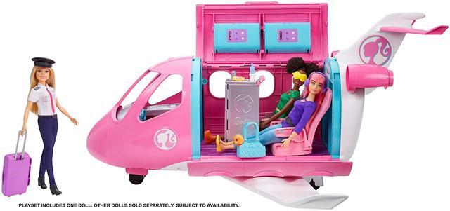 Барбі Літак - Самолёт мечты Барби Barbie Pink Passport Glamour Vacation Jet Playsets Mattel (GDG76)