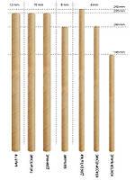 Бумага для производства и упаковки бумажных трубочек ( (Fibre Straw paper)- 60 гр/м2 черная и белая