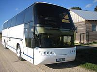 Лобове скло автобусу Neoplan 117 нижнє