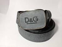 Ремень Dolce & Gabbana синий