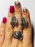 Ажурный набор в серебре Симона, фото 4