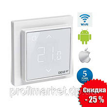 Терморегулятор DEVIreg™ Smart Pure White Wi-Fi