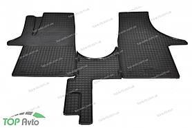 Резиновые коврики Volkswagen Transporter T6 2015- ЗРТИ Харьков
