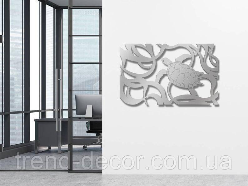 Декоративное металлическое панно Черепаха