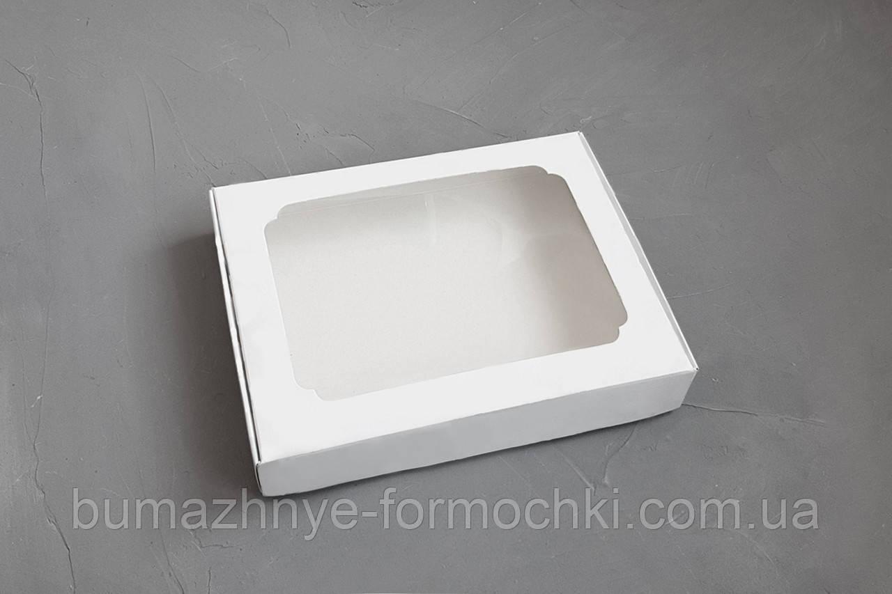 Коробка для пряников, 150*200*30, белая