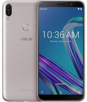 "Смартфон ASUS ZenFone Max Pro M1 ZB602KL 4/64GB Silver, 13+5/8Мп, 5000mAh, 2sim, 6"" IPS, GPS, 4G, 8 ядер"