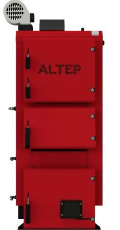Котёл отопительный на твёрдом топливе  АЛЬТЕП ДУО ПЛЮС  150 кВт  (АLTEP DUO PLUS)
