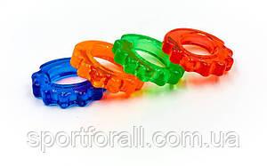 Эспандер кистевой кольцо фигурный  (гелевый,d-4,7x8,5см) FI-4386