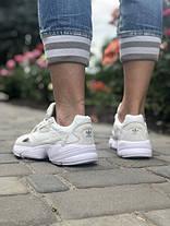 Женские кроссовки в стиле Adidas Falcon All White, фото 2